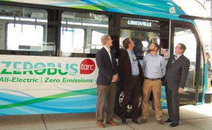 TARC All Electric Bus Unveiling