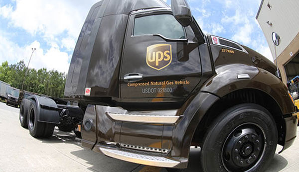 UPS Makes Another Huge Investment in CNG Trucking - Kentucky